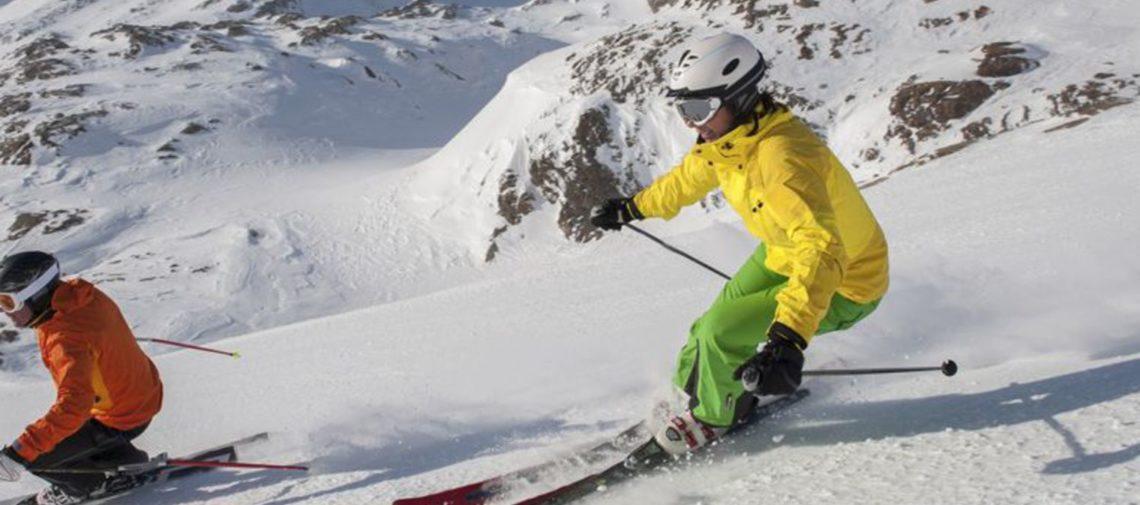skier au soleil